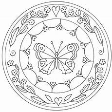 Ausmalbilder Schmetterling Mandala Mandala Zum Ausdrucken Mandala Zum Ausdrucken Mandala
