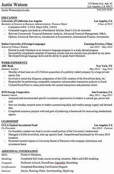 professional resume templates for college graduates