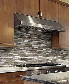 glass backsplash tile ideas for kitchen brown metal glass mixed mosaic kitchen backsplash tile