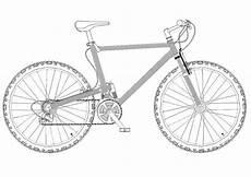 malvorlage mountainbike kostenlose ausmalbilder zum