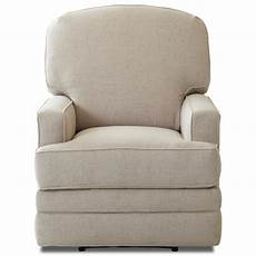 klaussner chapman casual swivel rocking reclining chair
