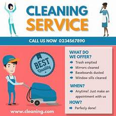 Examples Of Cleaning Business Flyers Make Free Home Cleaning Flyers Postermywall