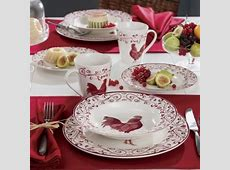 1000  images about Rooster Dinnerware on Pinterest   Lille