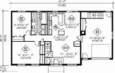 ranch style house plan 2 beds 1 00 baths 1000 sq ft plan
