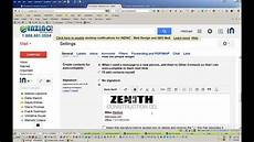 How To Make An Email Signature How To Create A Gmail Email Signature With Image Logo