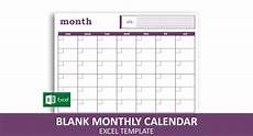 Type In Calendar Blank Monthly Calendar Excel Template Savvy Spreadsheets