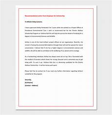 Sample Graduate School Recommendation Letter From Employer Recommendation Letter For Graduate School From Employer