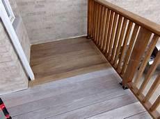 Light Or Dark Deck Stain Defy Deck Stain For Hardwoods In Light Walnut On An Ipe