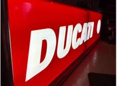 fs: Ducati dealer working light up sign , Huge 13' long   Ducati.ms   The Ultimate Ducati Forum