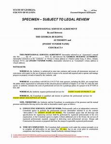 Generic Contract For Services 50 Professional Service Agreement Templates Amp Contracts