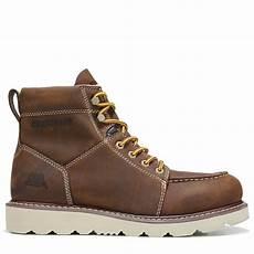 Caterpillar Boots Size Chart Caterpillar Men S Tradesman Work Boots Chocolate Brown