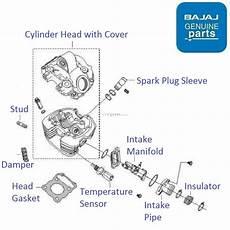 Light Cylinder Pulsar Bajaj Pulsar 220 Dts Fi Cylinder Head