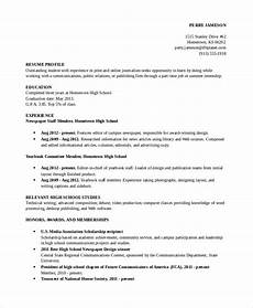 Sample Resume For High School Students 10 High School Student Resume Templates Pdf Doc Free