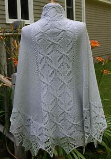 all knitted lace pattern release lucky quatrefoil shawl
