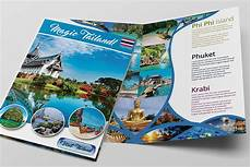 Travel Brochure Cover Design 25 Travel Brochure Designs Amp Examples In Psd Ai
