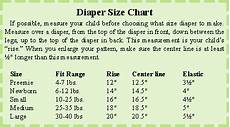 Cloth Diaper Sizes Chart Sewing And Using Cloth Diapers Is Easier Than You Think