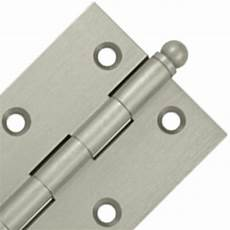 3 inch x 2 inch solid brass cabinet hinges brushed nickel