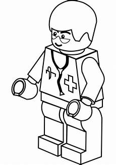 Supercoloring Robot Lego Doctor Coloring Page Free Printable Coloring Pages