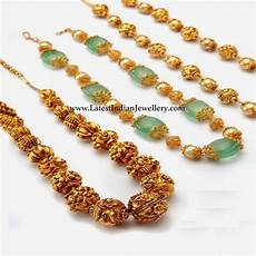 Different Bead Necklace Designs Different Beads Jewellery Designs