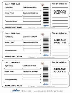 Airline Ticket Template Free Airline Ticket Invitation Template Download Young Women