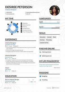 Interior Design Resume Examples Interior Designer Resume Example And Guide For 2019