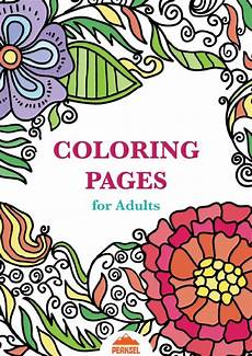file printable coloring pages for adults free