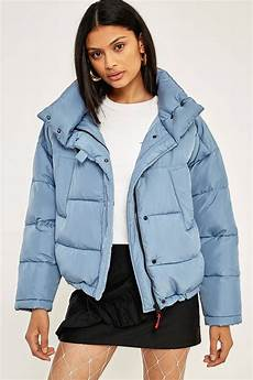 Light Blue Puffer Jacket Urban Outfitters Light Before Dark Blue Pillow Puffer Jacket Blue Puffer