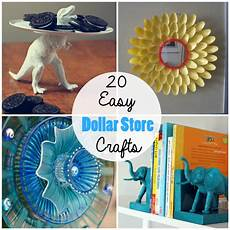 20 cheap simple dollar store crafts the craftiest