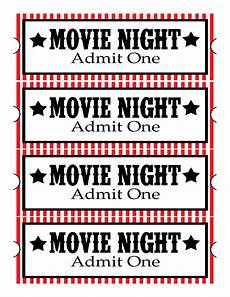 Print Tickets Free Free Printable Movie Tickets Clipart Best