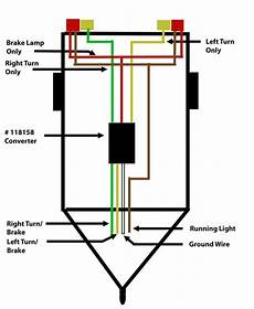 how to wire up a trailer with separate taillights to a 4