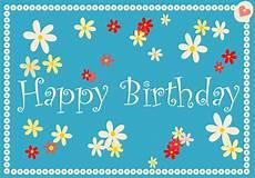 Happy Birthday Cards To Print Free Free Printable Happy Birthday Cards Ausdruckbare