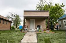 Tiny Houses Detroit New Tiny Home Community In Detroit Offers Housing To Low