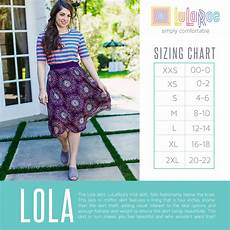 Lularoe Lola Skirt Sizing Chart Features A Lining That Is