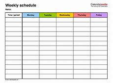 Working Schedule Format 17 Perfect Daily Work Schedule Templates ᐅ Templatelab