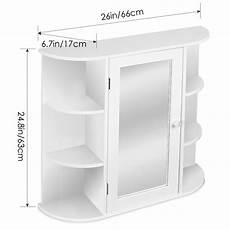 buy cheap medicine cabinet white framed mirror door wall