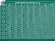 Mens Shoe Width Chart How To Find Your Shoe Size 11 Steps With Pictures Wikihow