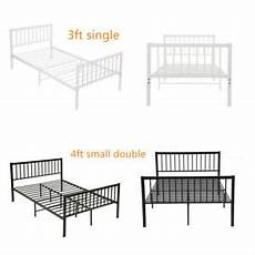 metal bed frame 3ft 4ft small size solid