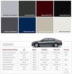 Honda Civic Color Code Chart 2008 Honda Accord Interior Color Code Psoriasisguru Com