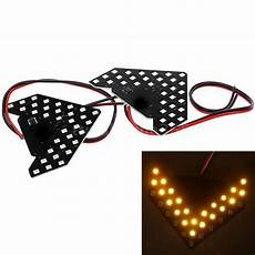 Led Arrow Light Yellow 33 Smd Sequential Led Arrows Panel For Car Side