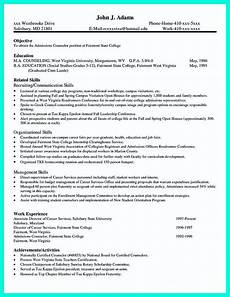 Resume Of Job Application Cool Write Properly Your Accomplishments In College