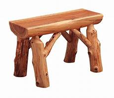 logger bench rustic furniture mall by timber creek
