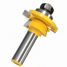 shaker bevel rail and stile glue joint router bit for