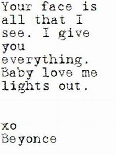 Beyonce Love Me Lights Out Beyonce Songs And Baby Love On Pinterest