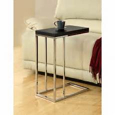metal accent table compact cappuccino chrome metal accent table free