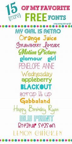 Fun Fonts Font