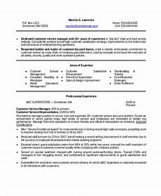 How To Word Customer Service On Resume 15 Manager Resume Templates Pdf Doc Free Amp Premium
