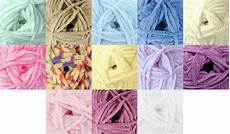flutterby chunky soft polyester knitting wool 100g
