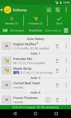 Grocery List Calculator App 12 Best Grocery List App For Android Free Apps For