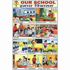 Educational Charts Manufacturers In India Educational Sticker And Chart Our School Sticker