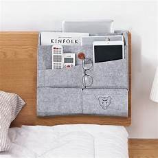 bedside storage bed organizer felt pocket caddy desk sofa